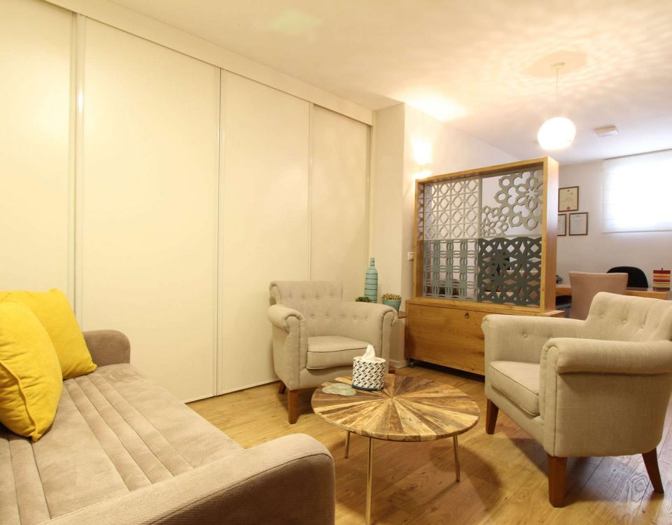 עיצוב משרד ביתי ברעננה