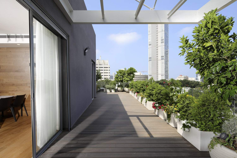 עיצוב המרפסת