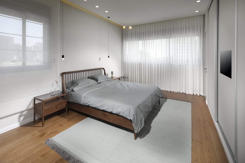סגנון עיצובי מדהים בחדר שינה