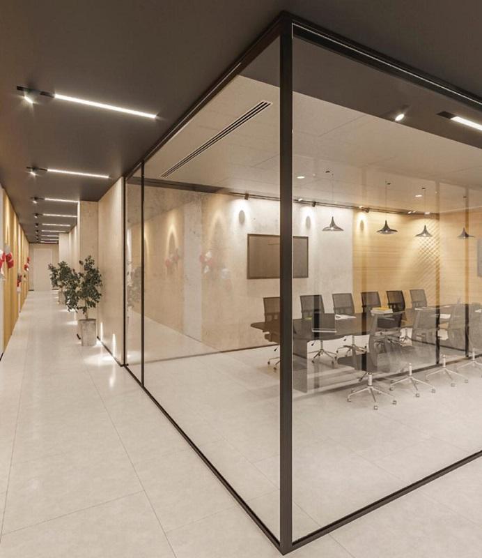 שילוב תאורה בעיצוב משרדים