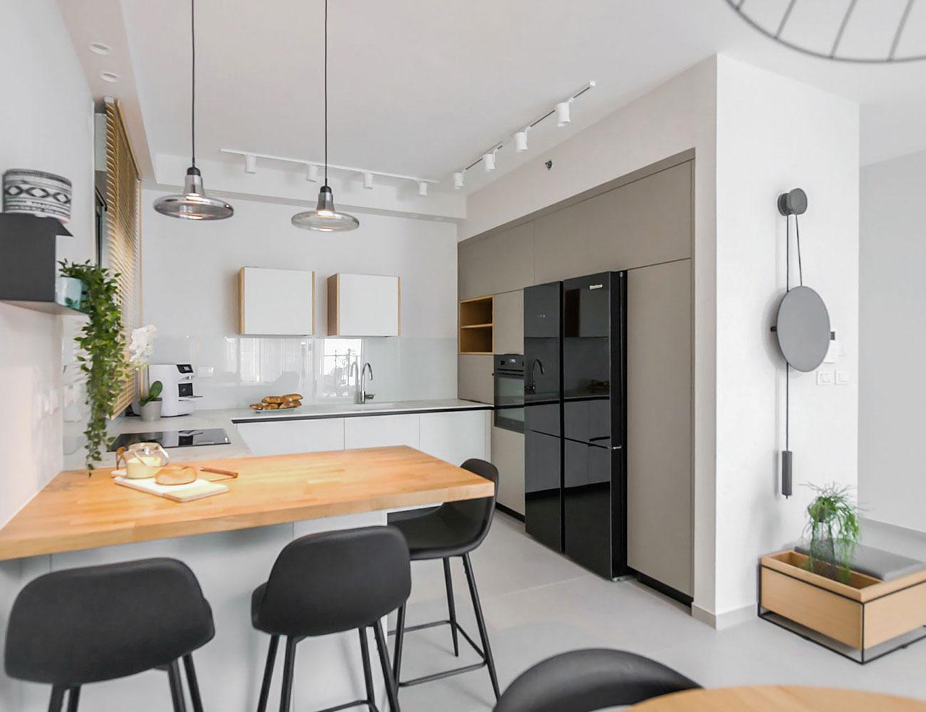 עיצוב מטבח - דירה בשכונת אגמים, נתניה