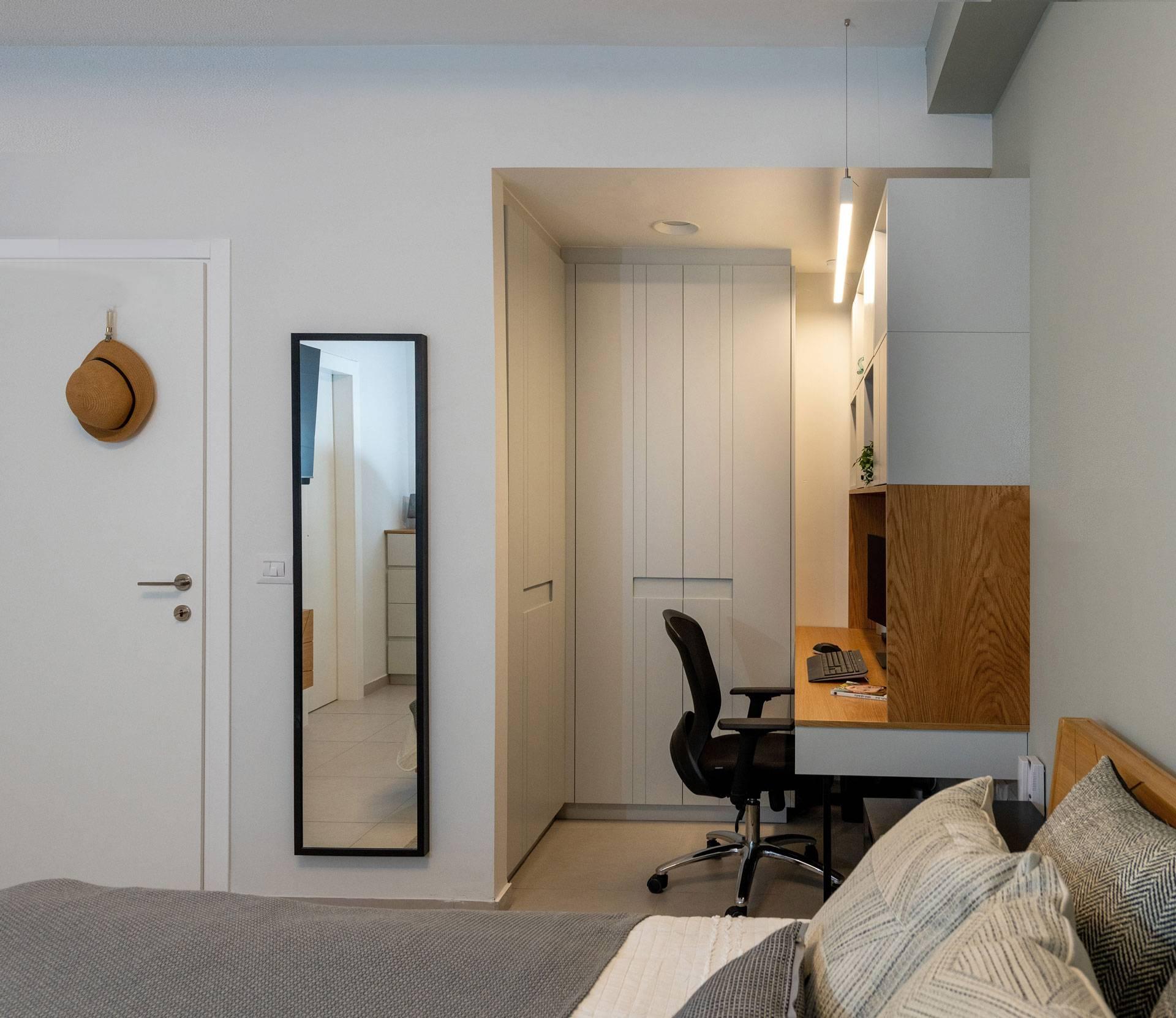 עיצוב חדר שינה בהוד השרון