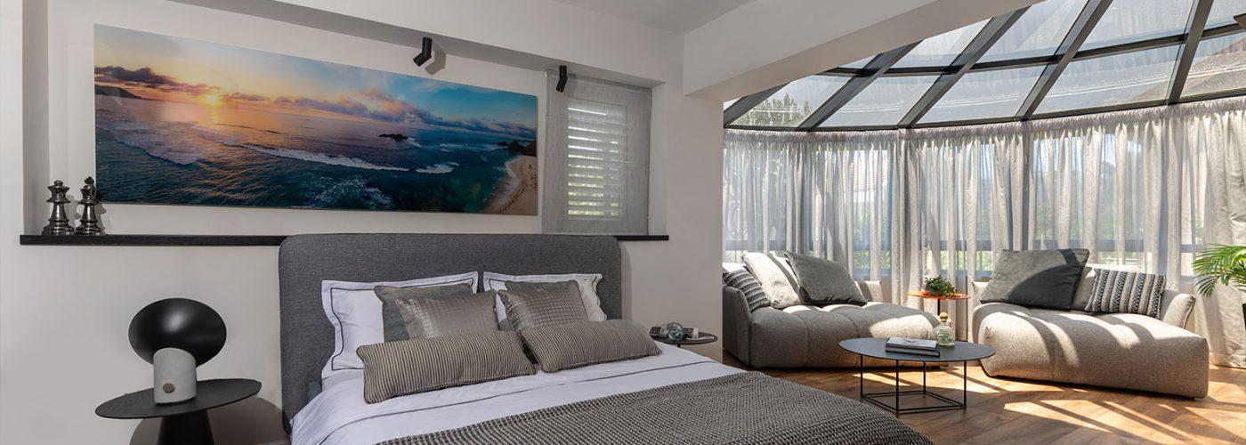 יחידת הורים מעוצבת - Master Bedroom